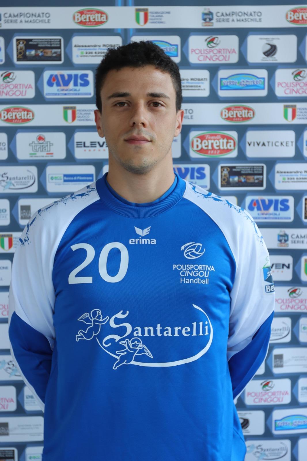 20 – Mario Gentilozzi : Portiere