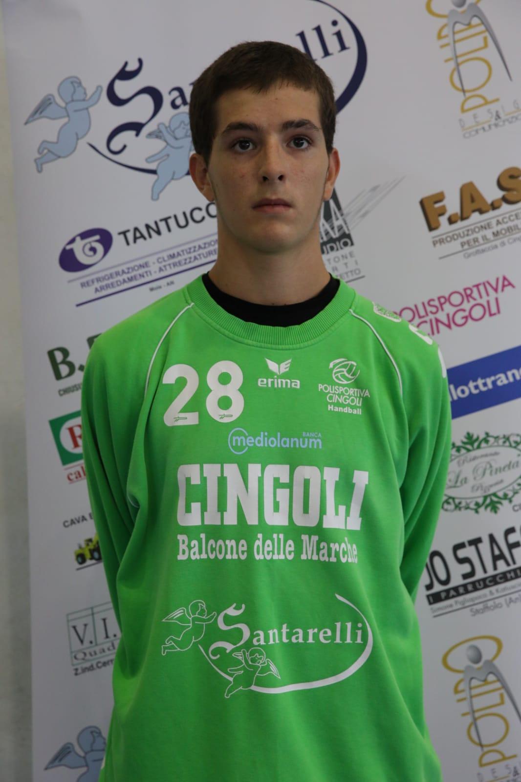 28 – Francesco Albanesi : Portiere