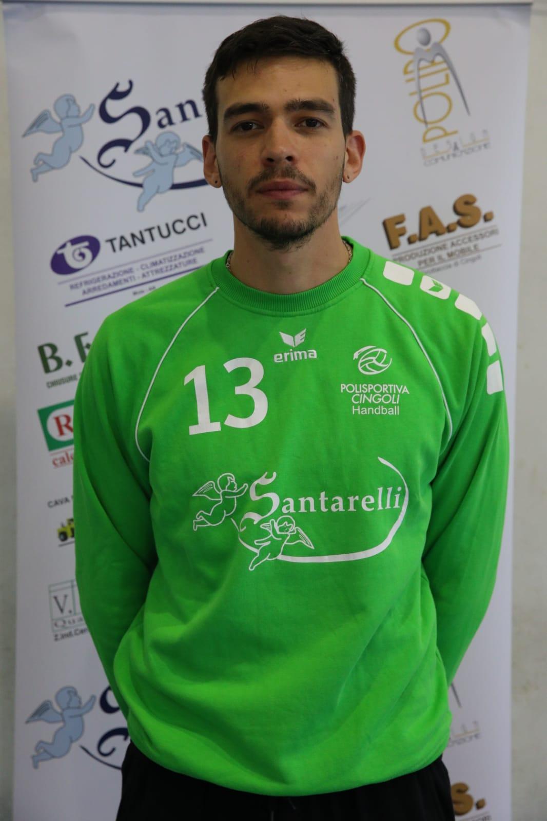 13 – Javier Carlos Anzaldo : Portiere
