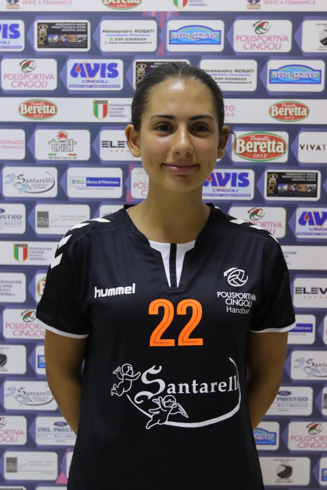 22 – Alice Giambartolomei : Centrale/Terzino