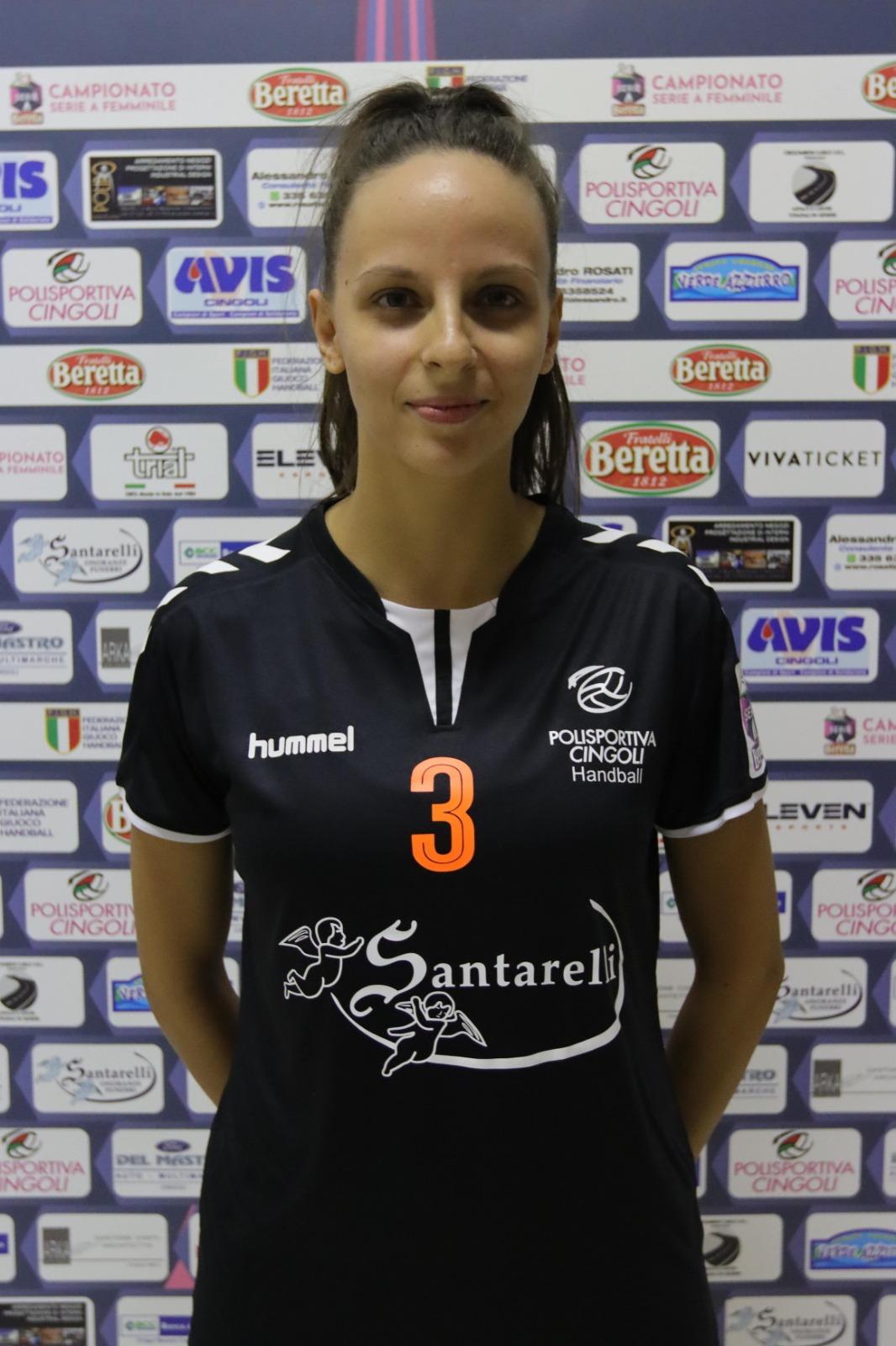 3 – Sara Bartolucci : Terzino