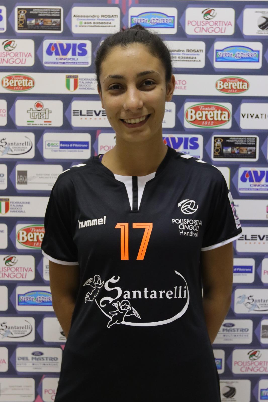17 – Sofia Cipolloni : Terzino